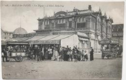 (1281) Malo-les-Bains - La Digue - L'Hôtel Belle-Vue - Cremekarren - Bière De La Comité - Glacier - 1916 - Dunkerque