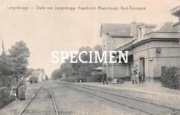 Statie Van Langerbrugge Naamlooze Maatschappij Gent-Terneuzen - Langerbrugge - Evergem