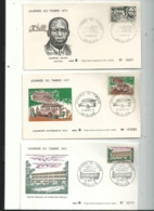 3 Journées Du Timbre Sur Enveloppe à N°....années....1970 / 71 / 72 ....à Voir - Ivoorkust (1960-...)