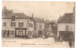 45 - CHÂTILLON-sur-LOIRE - Place Sainte-Anne - Chatillon Sur Loire
