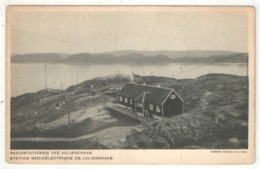 Radiostationen Ved JULIANEHAAB (Gronland - Greenland - Groenland) - Groenlandia