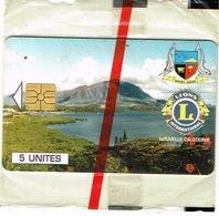 Nouvelle Caledonie Telecarte Phonecard Privee Lions Club Mont Dore Blason Armoirie Dauphin NC 29 Nsb Us Courant - Neukaledonien