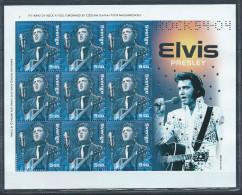 """Bloc Spécial De Suède Neuf  émis En 2004 Avec 9 Timbres N°2409 Thème """"rock'n Roll"""" Elvis Presley - Blocs-feuillets"""