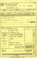 Antico Biglietto Ferrovie Dello Stato Da Messina A Palermo - 1975 - Europa