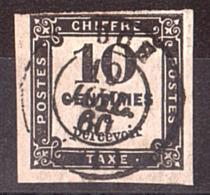 France - 1859 - Timbre-Taxe N° 2A Oblitéré - Taxes