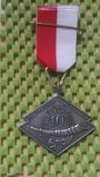 Medaille :Netherlands  -  Kleurenmars Rond Enschede ( E.W.B 15-25 Km.)  / Vintage Medal - Walking Association - Nederland