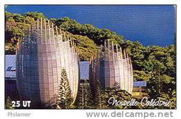 Nouvelle Caledonie Telecarte Phonecard NC 127 Centre Culturel Tjibaou Adck 4 Part Puzzle Cote 20 TBE - Neukaledonien
