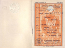 Librettino Biglietti Da Viaggio Ministero Della Marina Mercantile - 1982 - Otros