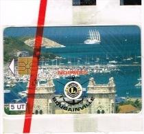 Nouvelle Caledonie Telecarte Phonecard Prive Cote 80 Euro NC28 Lions Noumea Cathedrale Bougainville Neuve TB - Nieuw-Caledonië