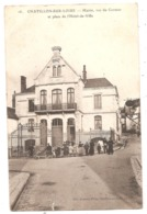 45 - CHÂTILLON-sur-LOIRE - Mairie Du Cormier Et Place De L'Hotel De Ville - Chatillon Sur Loire