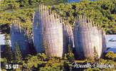 Nouvelle Caledonie Telecarte Phonecard NC 124 Centre Culturel Tjibaou Adck 2 Part Puzzle Cote 20 BE - Neukaledonien