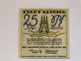 Allemagne Notgeld Altona 25 Pfennig - Collezioni