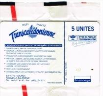 Nouvelle Caledonie Telecarte Phonecard Prive Transcaledonienne Course Pied Randonnee Cote 90 Euro NC39 Sport  TB - Nouvelle-Calédonie