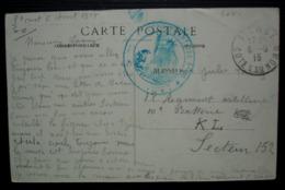 Saint-Cast-le-Guildo 1915 (Côtes Du Nord) Hôpital Complémentaire N°60 Cachet Sur CPA - WW I
