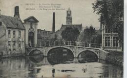 Brugge De Brug Van Het Begijnhof - Cpa Gebruikt - Brugge