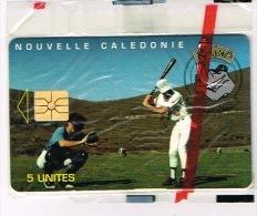Nouvelle Caledonie Telecarte Phonecard Prive Rhino Base Ball Cote 80 Euro NC31A Sport  TB - Nueva Caledonia