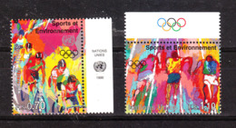 ONU  Genève  - 1996. Ciclismo  E  Podismo. Cycling And Running. Complete MNH Series With Symbols - Summer 1996: Atlanta