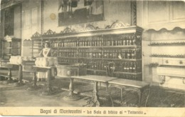 12988 - Montecatini - Bagni Di Montecatini - La Sala Di Bibita Al Tettuccio (Pistoia) F - Pistoia