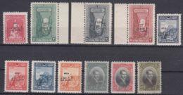 Turkey 1927 Mi#857-867 Mint Never Hinged Fresh - 1921-... Republiek