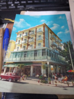 MIRAMARE DI RIMINI VIA PRINCIPE PIEMONTE HOTEL SAINT LOUIS AUTO CAR FIAT N1968 HF828 - Rimini