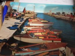 RICCIONE  DARSENA  MOTOSCAFO RIVA  DISTRIBUTORE BP VB1964 HF829 - Rimini