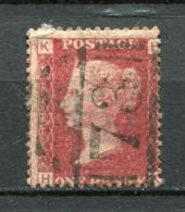 Great Britain Nr.16 Platte:97     (H-K)      O  Used      (1140) - 1840-1901 (Victoria)