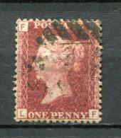 Great Britain Nr.16 Platte:109     (L-F)      O  Used      (1141) - 1840-1901 (Regina Victoria)
