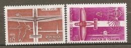 1962 Yv. N° 1340,1341   ** MNH  Aviation  Cote  1,1  Euro TBE - Frankreich