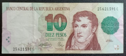 CS - Argentina 10 Pesos Banknote - Argentina