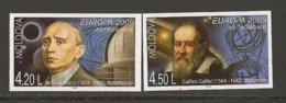 """MOLDAVIA/ MOLDOVA / MOLDAWIEN / MOLDAU - EUROPA 2009  - TEMA  """"ASTRONOMIA"""" - SET Of 2 STAMPS IMPERFORATED - Europa-CEPT"""