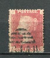 Great Britain Nr.16 Platte:135     (D-F)      O  Used      (1155) - 1840-1901 (Regina Victoria)