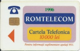 ROMANIA - Abstract Design - Bucharest 1  - 10.000EX - Romania