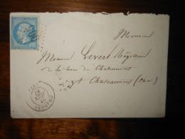 Enveloppe GC 905 Charost Cher - 1849-1876: Période Classique