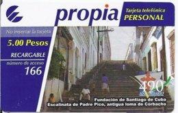 CUBA - PROPIA RECHARGE - MINT - Kuba