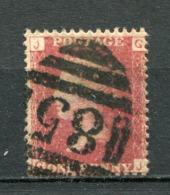 Great Britain Nr.16 Platte:154     (G-J)      O  Used      (1166) - 1840-1901 (Victoria)