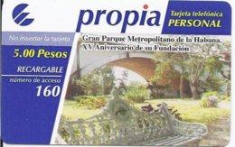 CUBA - PROPIA RECHARGE - USED - Cuba