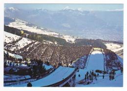 38 Saint St Nizier Du Moucherotte Vers Grenoble Tremplin Saut à Ski De 90m Au Fond Grenoble Et La Chartreuse En 1988 - Grenoble