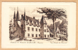 CPA Chateau De Moncroi La Gravette, Ungel. - Frankrijk