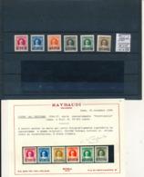 VATICAN SASSONE 35/40 LH CERTIFICAT RAYBAUDI - Vatican