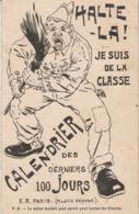 Militaria : Calendrier Des Derniers Jours 11 Jours  - HALTE-LA ! - ( à Volet ) - Books, Magazines  & Catalogs