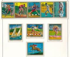 PARAGUAY Mi. Nr. 2035-2043 Olympische Sommerspiele, München - Siehe Scan - MNH - Summer 1972: Munich