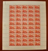 Feuille De 50 Timbres ST - FRONT , DE PERIGUEUX -- ** 4 F + 3 F. ** POSTE 1947 - Feuilles Complètes