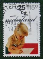 25 + 10 Ct Kinderzegel Child Welfare Kinder Enfant NVPH 1020 (Mi 1001) 1972 Gestempeld / USED NEDERLAND / NIEDERLANDE - Period 1949-1980 (Juliana)