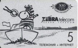 RUSSIA - ZEBRA TELECOM - Russia
