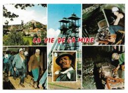 57 - La Vie à La Mine - La Mine En Activité - Multi-vues - Mines