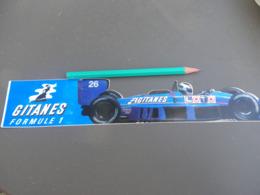 Autocollant - Formule 1 - F1 - LIGIER GITANES - Autocollants