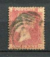 Great Britain Nr.16 Platte:183     (L-C)      O  Used      (1184) - Oblitérés