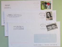 Italia 2014, Storia Postale, Usi Isolati Su Busta, 12 Buste (vedi Descrizione) 4 Scan (Re)1x3 - 6. 1946-.. Repubblica