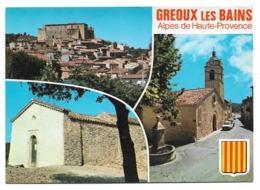 04 Gréoux Les Bains - Multi-vues - Gréoux-les-Bains