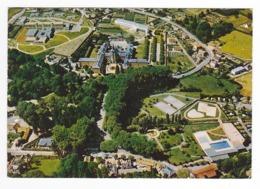 71 Bourbon Lancy Vers Gueugnon Vue Panoramique Hôpital Hospice Maison De Retraite 2 Courts De Tennis Piscine En 1977 - Gueugnon